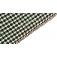 Dabi Parna Men's UnStitched Casual Cotton White And Black Small Check Parna (Length- 4 Meters)