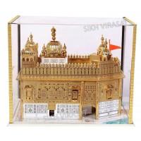 Model Darbar Sahib / Sri Harmandir Sahib / Golden Temple, Amritsar - Large ( Size -: 12 X 12 X 12 Inches )