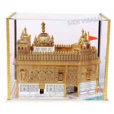 Model Darbar Sahib / Sri Harmandir Sahib / Golden Temple, Amritsar - Large ( Size -: 12 X 12 X 12 Inches )