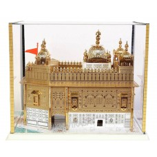 Model Darbar Sahib / Sri Harmandir Sahib / Golden Temple, Amritsar (Medium - 8 X 9 X 8 Inches)