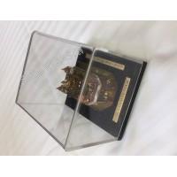 Model Darbar Sahib /Golden Temple / Harmandir Sahib 24 Carat Gold Plated Small (Size - 4 X 4 X 6 Inches, Shape: Rectangular)