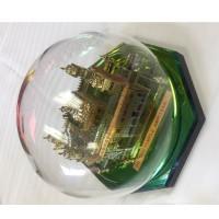 Model Darbar Sahib /Golden Temple / Harmandir Sahib 24 Carat Gold Plated Large (Size : 7 X 7 x 8 Inches, Shape: Round)