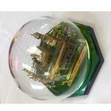 Model Darbar Sahib /Golden Temple / Harmandir Sahib 24 Carat Gold Plated Large (Size : 7 X 7 x 8 Inches, Shape: Round)