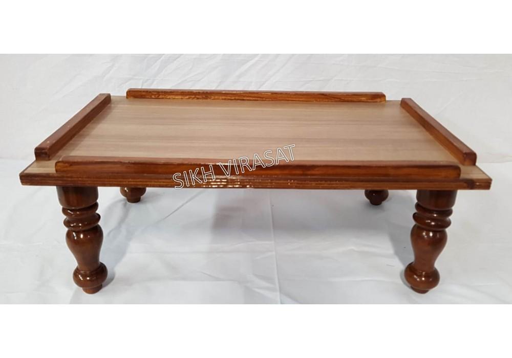 Peera / Peeda / Pida / Manji Sahib Wood Small (Only for Sanchi Sahib Size - 28 X 18 inches)