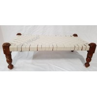 Peera / Peeda / Pida / Manji Sahib Wood Cotton Strips (Punjabi: Navaar) Large (Size - 39 X 22 inches)