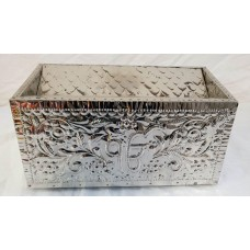 Golak Large Donation Box Stainless Steel (Size - 19 X 11 Inches)