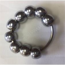 Mala SarbLoh/Iron Kara style Small (Finger size) (Punjabi: Simrana)