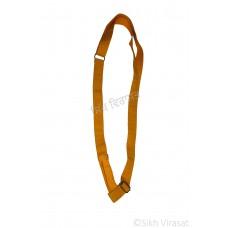 Gatra  Or Gaatra Adjustable Steel Buckle Width-1 Inch Color-Yellow