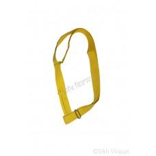Gatra Or Gaatra Adjustable Steel Buckle Width 1.5 Inch Color Light Yellow