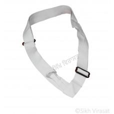 Gatra Or Gaatra Adjustable Plastic Buckle Width-1.5 Inch Color White