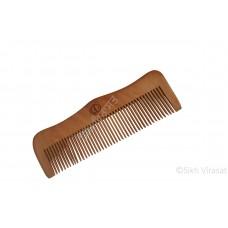 Kanga W Or Kangi Normal Or Kanga Wood Or Kangha Or Wooden Comb Or Dark Wood Brown Sikh Khanda Comb Size 5.5 inches