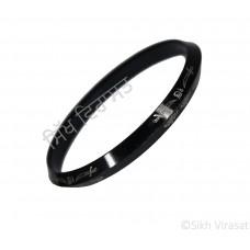 Kara Or Kada Designer Steel Black Printed