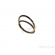 Kara Or Kada Designer Steel Gold Size 7.3 cm