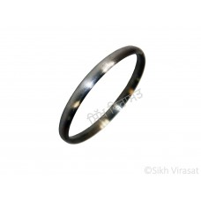 Kara Or Kada Iron (Punjabi: Sarabloh) Basic Plain for Teenager and Adults Light Weight-Color Silver Size-6.0cm to 7.6cm