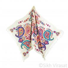 Handmade Cherry Multicolored Embroidery Pashmina Kashmiri Shawl/Stole