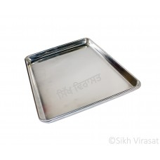 Aluminum or Aluminium Baking Tray or Baking Pans Color – Silver Size – 18x13 & 21x15 Inches