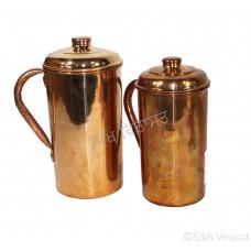 Jug (Punjabi: ਜੱਗ) Copper (Punjabi: ਤਾਂਬਾ) Size 8.2 – 9.3 Inch