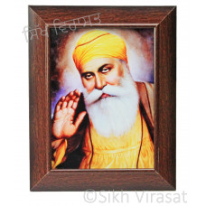 Shri Guru Nanak Dev Ji Colored Photo Size 6x8