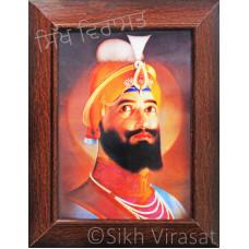 Shri Guru Gobind Singh Ji Colored Photo Size – 6x8