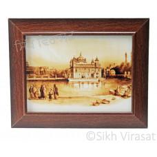 Golden Temple / Harmandir Sahib / Darbar Sahib Amritsar in 1833, Brown Photo Size 6x8