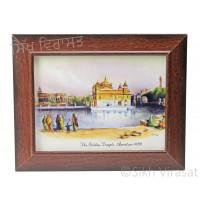 Golden Temple / Harmandir Sahib / Darbar Sahib Amritsar in 1833, Color Photo Size 6x8
