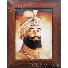 Shri Guru Gobind Singh Ji Brown Photo Size – 6x8