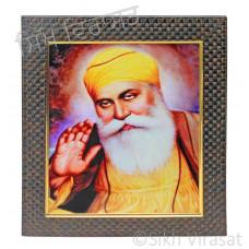Shri Guru Nanak Dev Ji Colored Photo Size 9 X 12