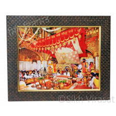 Internal View of Golden Temple /Gurudwara Inside Color Photo Size 9x12