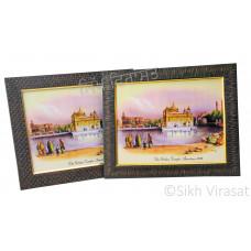 Golden Temple / Harmandir Sahib / Darbar Sahib Amritsar in 1833, Color Photo Size 9x12