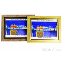 Golden Temple or Darbar Sahib or Harmandir Sahib in Colored Photo Size – 6X8