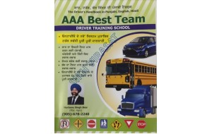 The Drivers handbook in Punjabi, English and Hindi (Driving book)