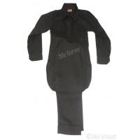 Kurta Pajama Kid/Children Kurta Pajama Pure Cotton Indian Clothing Punjabi Style Ethnic Indian Wear Color Black Size 24 Inches