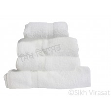 Standard Bath Towel Large White - 24 x 52""