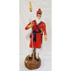 Nihang Singh Large Model (Color- Saffron/kesri , Size - 37 inches)