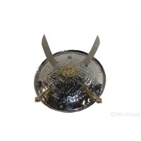 Dhall Steel Or Dhaal Or Dhal Or Shield Or Sikh Accessories Gatka Sports Small Size 12 inches