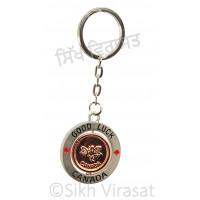 Good Luck Canada Coin Spinner Keychain