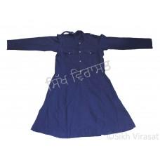 Chola Style – Nihangi (Gurmukhi/Punjabi- Bana) (Traditional Sikh Wear) Size- 24,26,28,30 Color: White, Royal Blue, Navy Blue, Punjabi Kesari (Saffron)