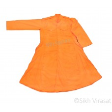 Chola Style – Nihangi (Gurmukhi/Punjabi- Bana) (Traditional Sikh Wear) Size- 32,34,36,38,40 Color: White, Royal Blue, Navy Blue, Punjabi Kesari (Saffron)