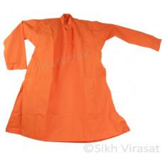 Chola Style – Taksali (Gurmukhi/Punjabi- Bana) (Traditional Sikh Wear) Size- 42,44,46,48,50,52 Color: White, Navy Blue, Punjabi Kesari (Saffron), Uniform Blue