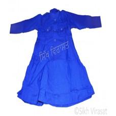 Chola Style – Nihangi (Gurmukhi/Punjabi- Bana) (Traditional Sikh Wear) Size- 42,44,46,48,50,52 Color: White, Royal Blue, Navy Blue, Punjabi Kesari (Saffron)