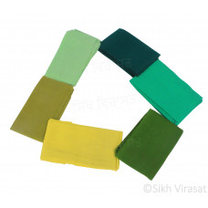 Green Shade Fifty For Turbans Color Options