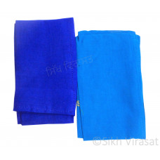 Fifty For Turbans Color Blue Shades