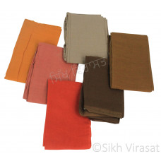 Fifty For Turbans Color Brown Shades