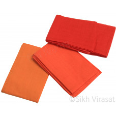 Fifty For Turbans Color Orange Shades