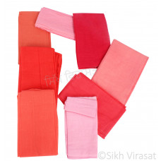 Fifty For Turbans Color Pink Shades