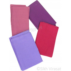 Fifty For Turbans Color Purple Shades