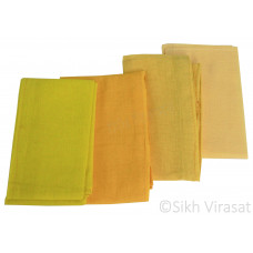 Fifty For Turbans Color Yellow Shades