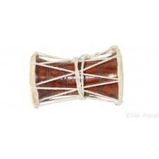 DHAD (Punjabi: ਢੱਡ) Decibel Dhadh Hand Drum Color Brown and Cream