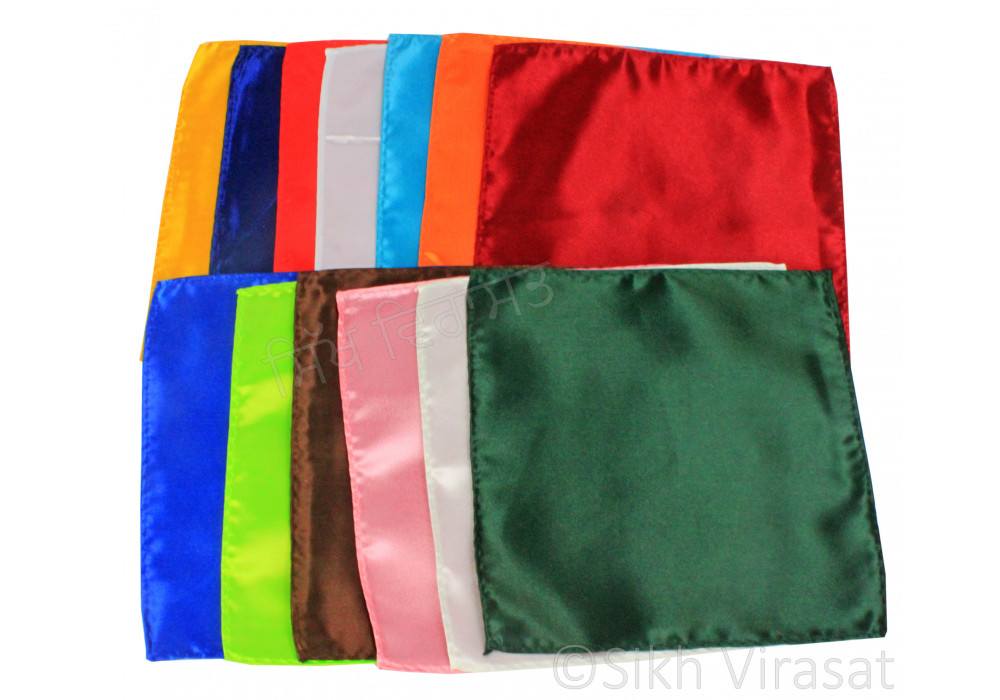 Punjab Solid Plain Pocket Square