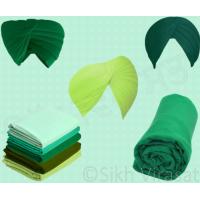 Turban - Full Voil Green (Per Meter)